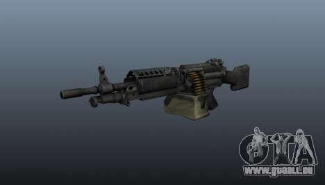Die M249 Maschinengewehr für GTA 4