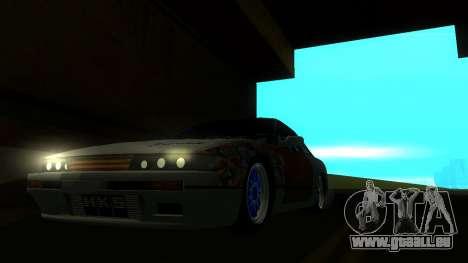 Nissan Silvia S13 MGDT pour GTA San Andreas vue de droite