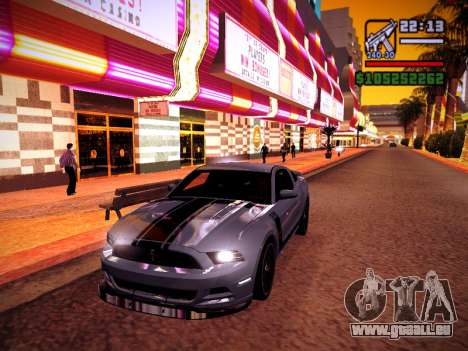 ENB by DjBeast for SA:MP Light Version pour GTA San Andreas dixième écran