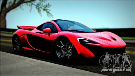 McLaren P1 2014 für GTA San Andreas rechten Ansicht