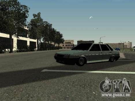 VAZ 21099 pour GTA San Andreas laissé vue