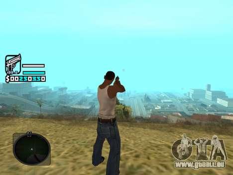 Hud by Larry pour GTA San Andreas deuxième écran