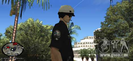Los Angeles Air Support Division Pilot für GTA San Andreas dritten Screenshot