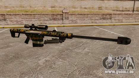 Le Barrett M82 sniper rifle v13 pour GTA 4