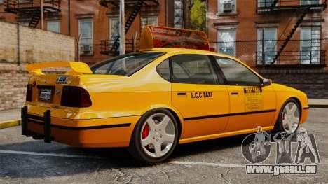 Taxi2 mit neuen Festplatten für GTA 4 linke Ansicht