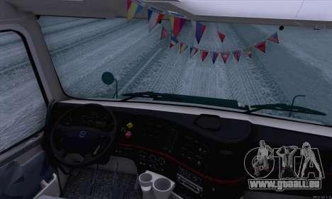 Volvo VNL 780 pour GTA San Andreas vue arrière