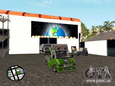 Gazelle Tow Truck für GTA San Andreas