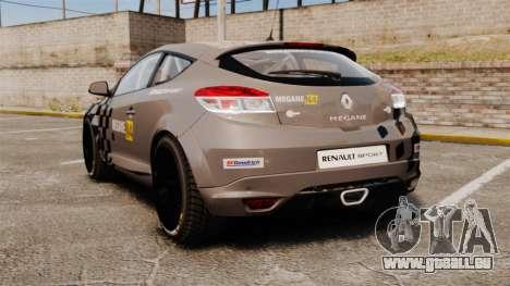 Renault Megane RS N4 für GTA 4 hinten links Ansicht