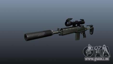Fusil automatique M14 EBR v1 pour GTA 4