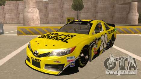 Toyota Camry NASCAR No. 20 Dollar General für GTA San Andreas