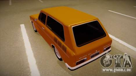 VW Variant 1972 für GTA San Andreas Rückansicht