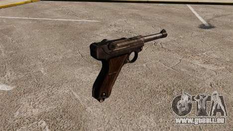 Pistole Parabellum v1 für GTA 4 Sekunden Bildschirm