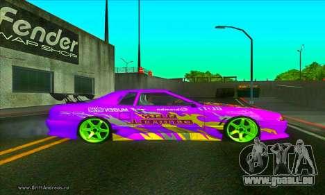 Elegy DC v2 für GTA San Andreas linke Ansicht