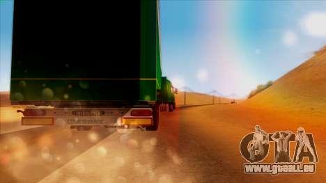 Volvo FH16 für GTA San Andreas Seitenansicht
