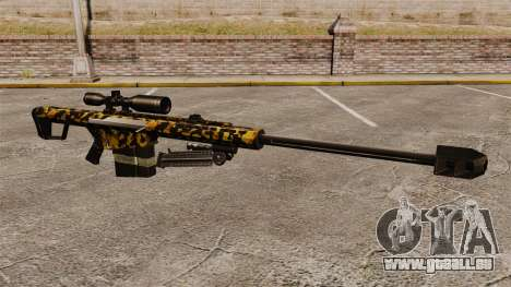 Das Barrett M82 Sniper Gewehr v11 für GTA 4