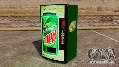 Nouvelles machines distributrices de soude pour GTA 4