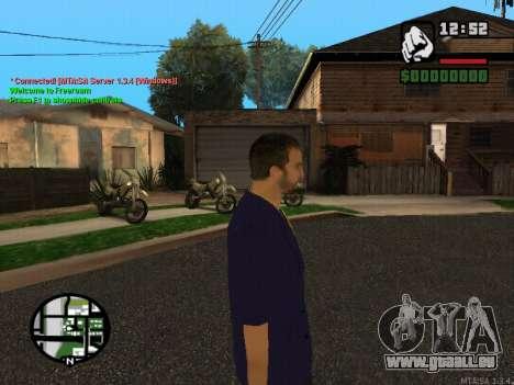 New Andre pour GTA San Andreas deuxième écran