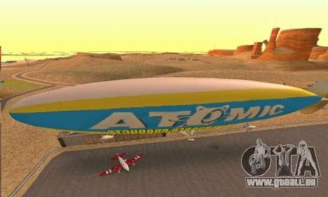 Zepellin GTA V pour GTA San Andreas vue de droite