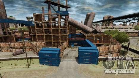 Une base défensive pour GTA 4
