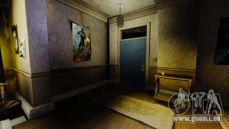 Nouvelles textures dans le premier appartement d pour GTA 4 troisième écran