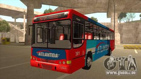 Marcopolo Torino G6 Linea 57 Atlantida pour GTA San Andreas