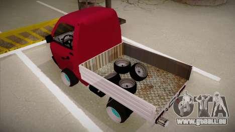 Suzuki Carry Drift Style für GTA San Andreas Rückansicht