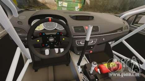 Renault Megane RS N4 für GTA 4 Rückansicht