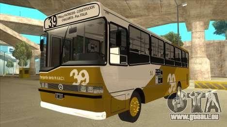 Mercedes-Benz OHL-1320 Linea 39 für GTA San Andreas