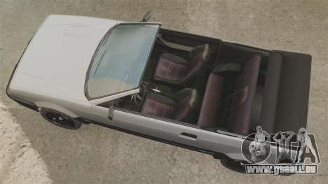 Die Cabrio-Version des der Blista für GTA 4 rechte Ansicht
