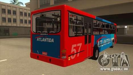 Marcopolo Torino G6 Linea 57 Atlantida pour GTA San Andreas vue de droite