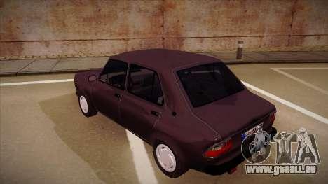 Zastava 101 pour GTA San Andreas vue arrière