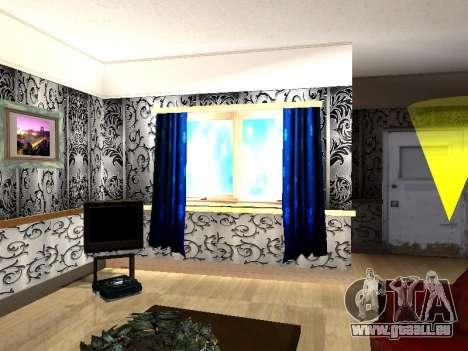 Innen 2-stöckige Neubau CJ für GTA San Andreas sechsten Screenshot