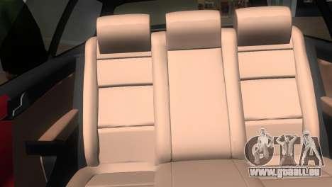 Volkswagen Passat B7 2012 für GTA Vice City Rückansicht