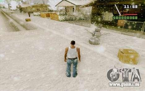 Règle en acier pour GTA San Andreas cinquième écran