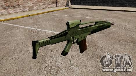 HK XM8 assault rifle v1 pour GTA 4 secondes d'écran