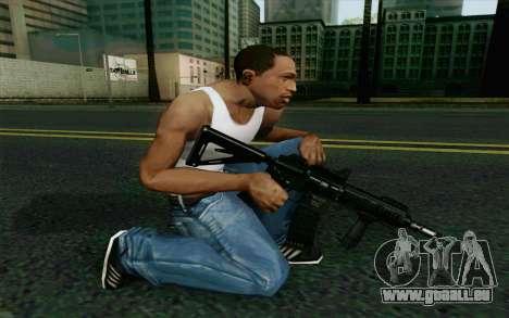 MK107 PDW für GTA San Andreas zweiten Screenshot