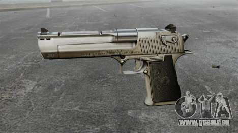 Desert Eagle Pistole für GTA 4 dritte Screenshot