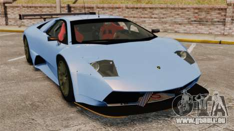 Lamborghini Murcielago RSV FIA GT1 v3.0 für GTA 4