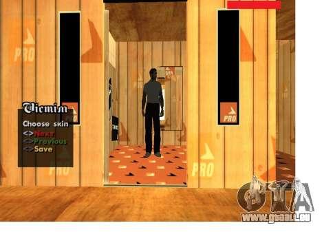 La peau de la mafia russe Pack pour GTA San Andreas troisième écran