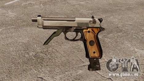 Auto Beretta M93R pour GTA 4 troisième écran