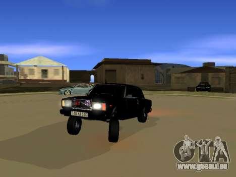 ВАЗ 2107 pour GTA San Andreas