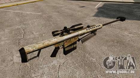 Le Barrett M82 sniper rifle v14 pour GTA 4 secondes d'écran