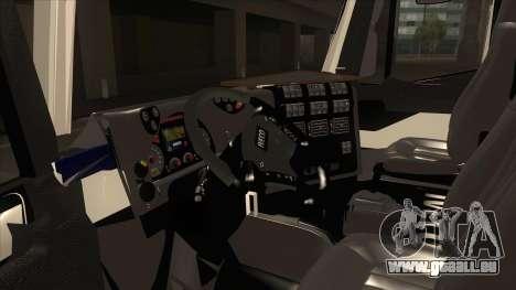 Hi-Land Betonmischer LKW Iveco für GTA San Andreas Rückansicht