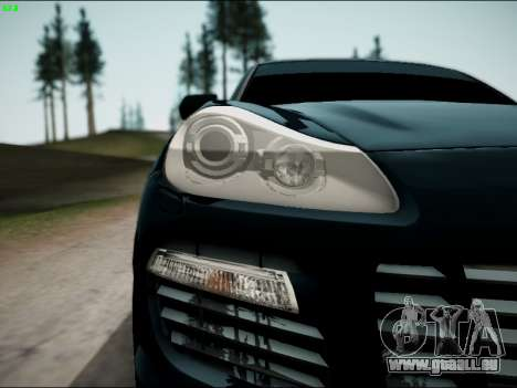 Porsche Cayenne pour GTA San Andreas vue de droite