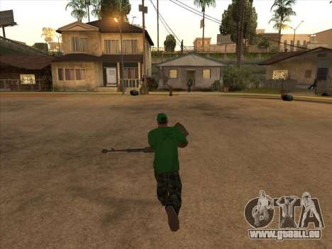 KORD pour GTA San Andreas deuxième écran
