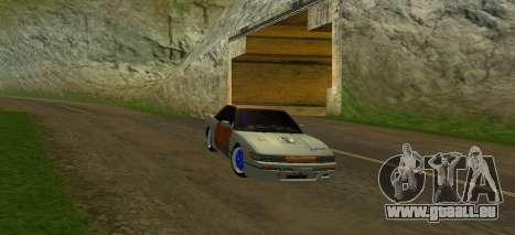 Nissan Silvia S13 MGDT pour GTA San Andreas vue de côté