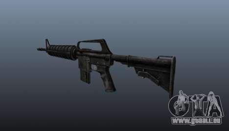 Automatique carabine M4A1 pour GTA 4 secondes d'écran