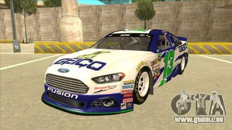Ford Fusion NASCAR No. 13 GEICO pour GTA San Andreas
