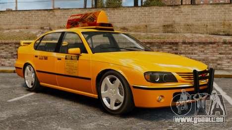 Taxi2 avec de nouveaux disques pour GTA 4