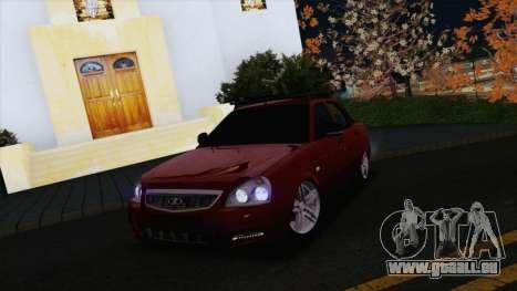 VAZ Lada Priora 2170 pour GTA San Andreas